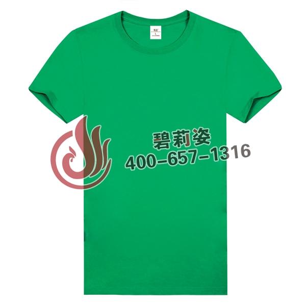 草绿色文化衫定做公司